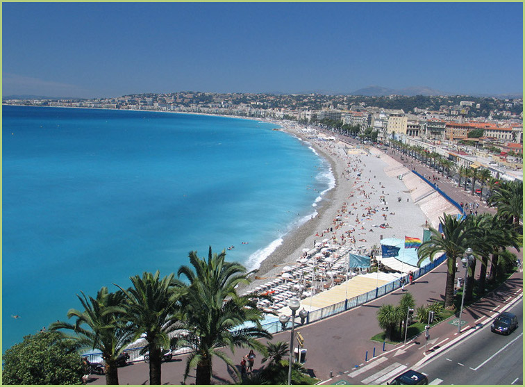"Photo de Nice ""Baie des anges"""