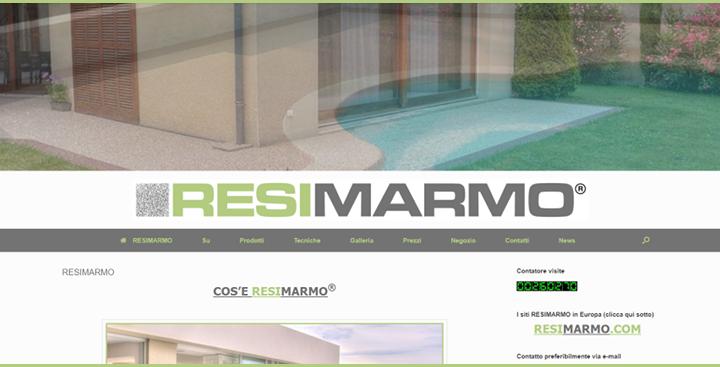 Photo de notre Site RESIMARMO Italia