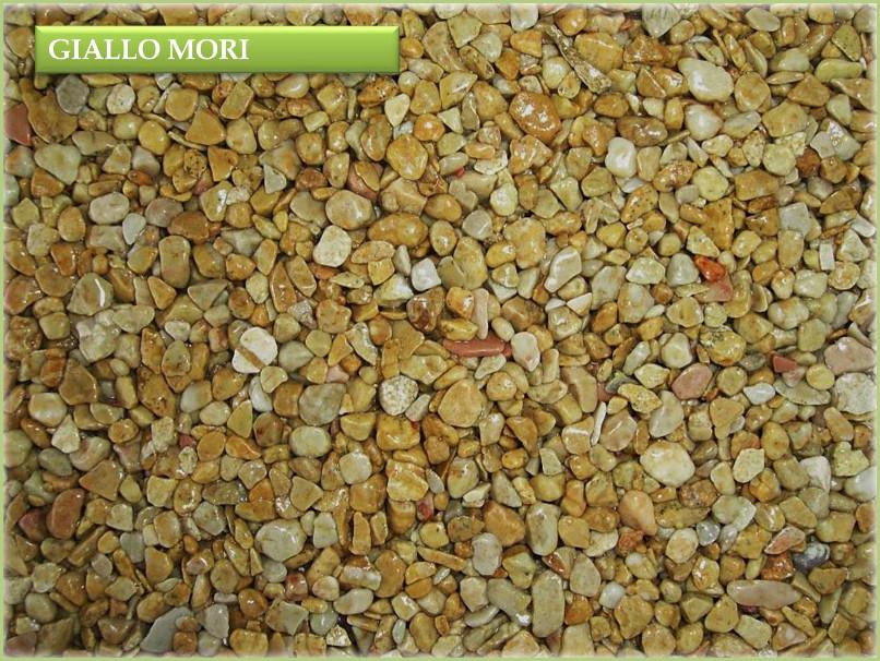 Les granulats de marbre italiens - Couleur giallo mori