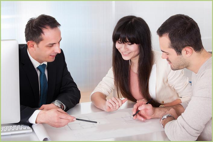 Un devis - Un entretien commercial dans la confiance et la sérénité