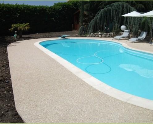 Foire de Montpellier - Aménagement des plages de la piscine