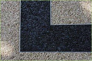 Les profilés en aluminium RESIPROFIL – Granulats de marbre