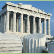 Le Parthénon en Grèce