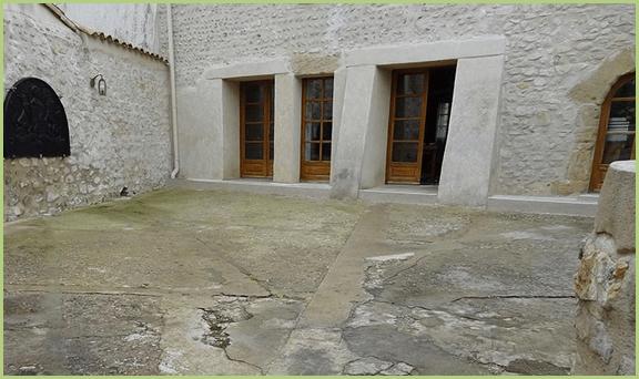 Terrasse intérieure - Avant